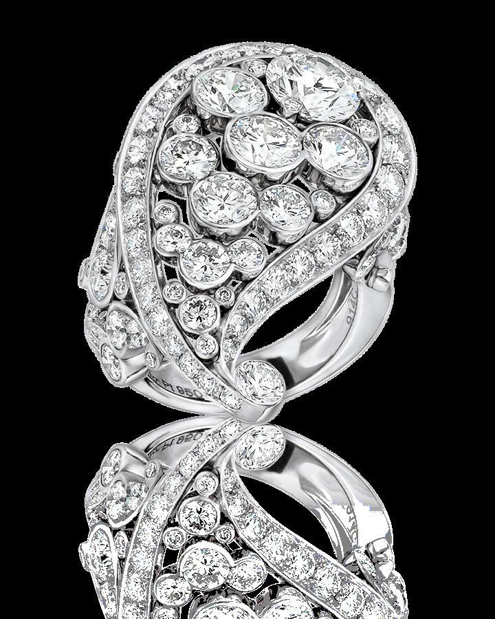 Кольцо с бриллиантом Cartier PAVE DIAMOND H4230250