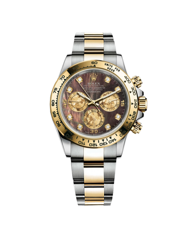Часы Rolex Cosmograph Daytona 40mm Steel and Yellow Gold 116523 dkym