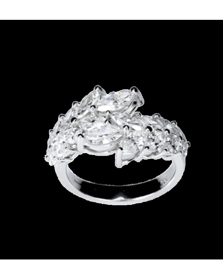 Кольцо RALFDIAMONDS  с бриллиантами Маркиз