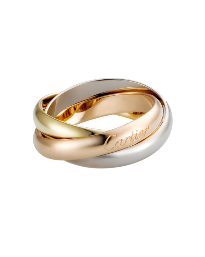 Кольцо Cartier  TRINITY КЛАССИЧЕСКАЯ МОДЕЛЬ B4052748