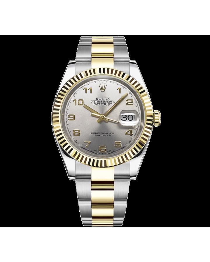 Часы Rolex Datejust 36mm Steel and Yellow Gold 116233