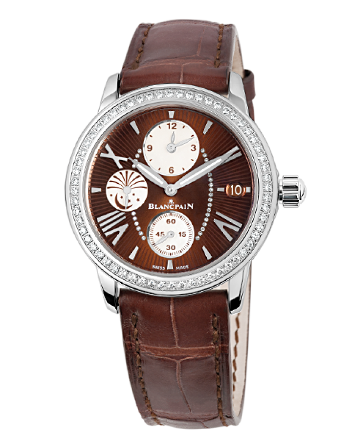 Часы Blancpain Women s Collection Double Time Zone  GMT 3760 1946 52B