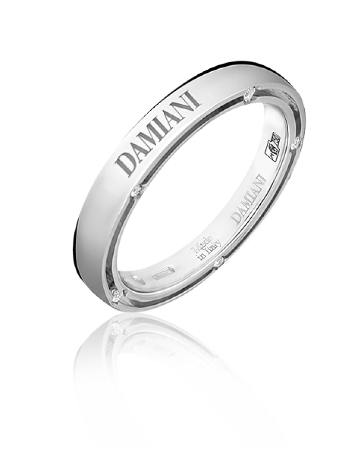 Кольцо Damiani D side