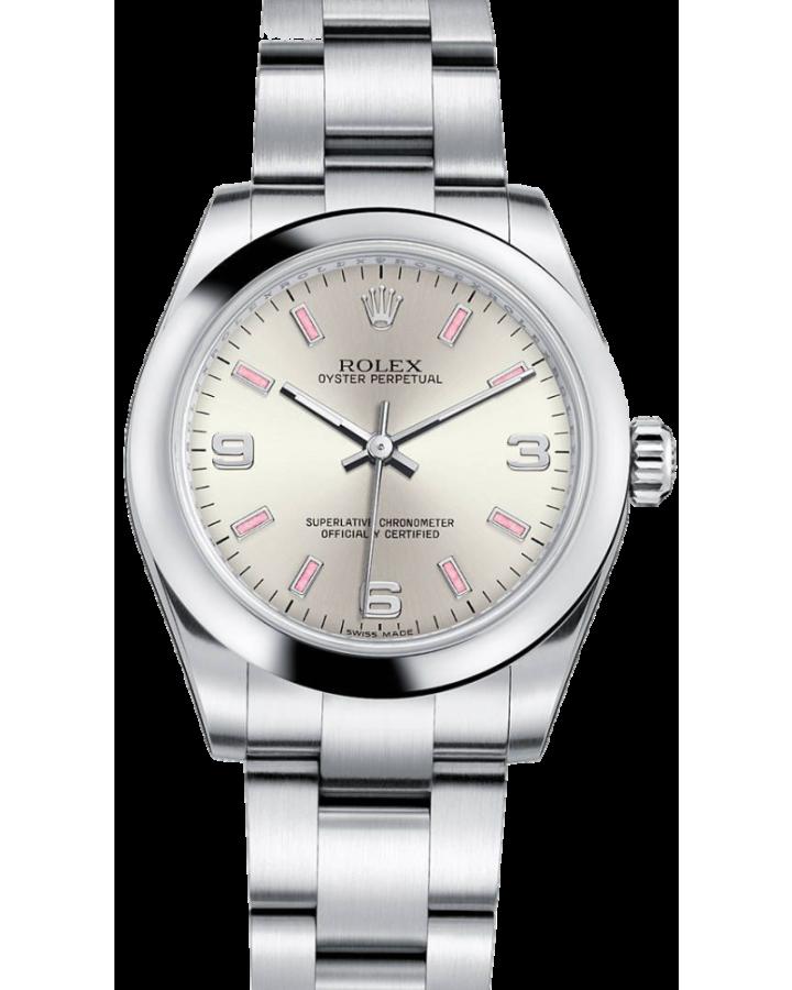 Часы Rolex Lady Oyster Perpetual 26mm Steel176200 Silver