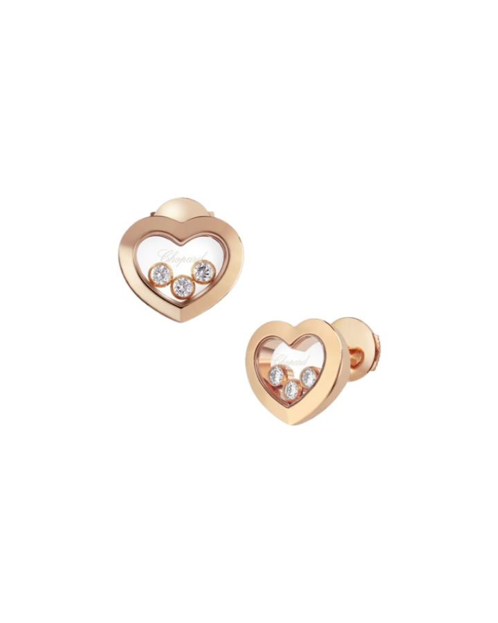 Серьги Chopard  HAPPY DIAMONDS ICONS 83A611-5001