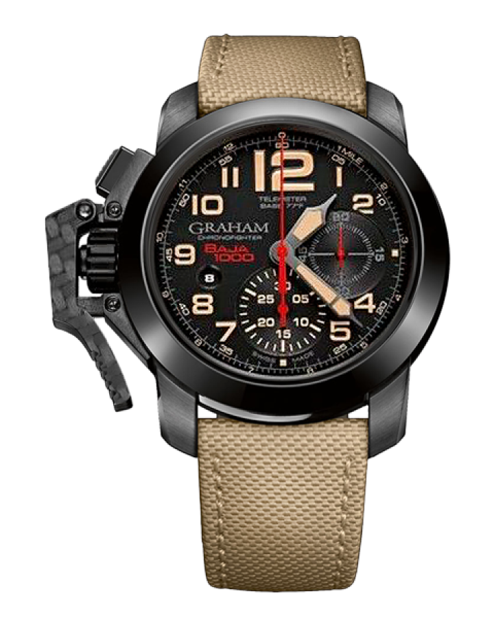Часы Graham Chronofighter Oversize Score Baja 1000
