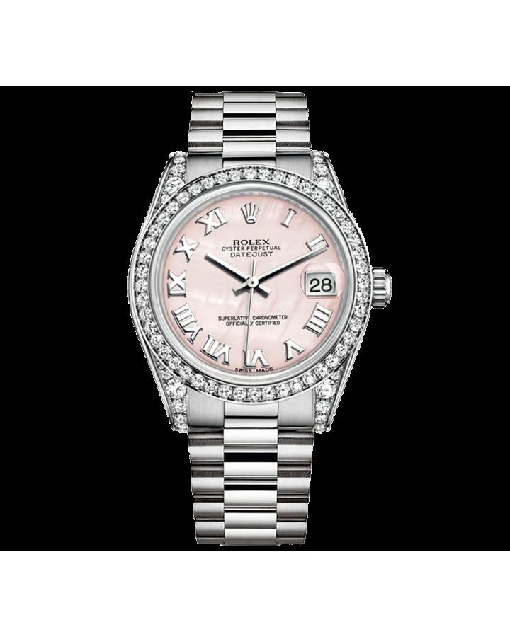 Часы Rolex  Datejust 31mm White Gold 178159 0042