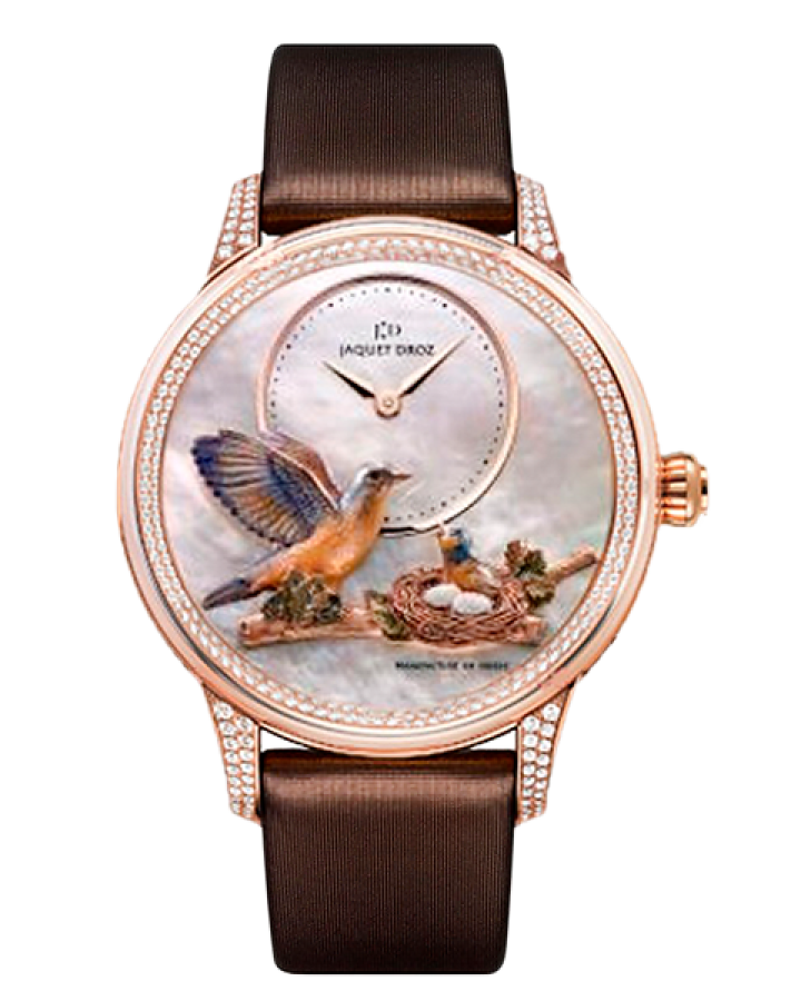 Часы Jaquet Droz Les Ateliers d Art Sculpted and Engraved Ornamentation Limited Edition