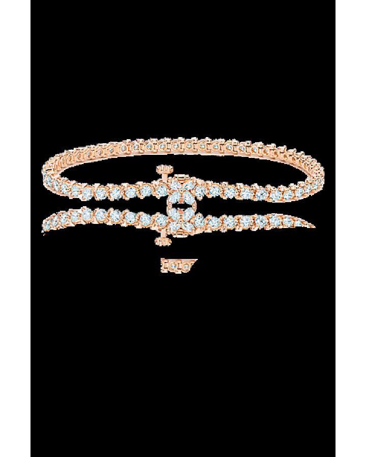 Браслет Tiffany&Co TIFFANY VICTORIA™ однорядный 3 08 карата