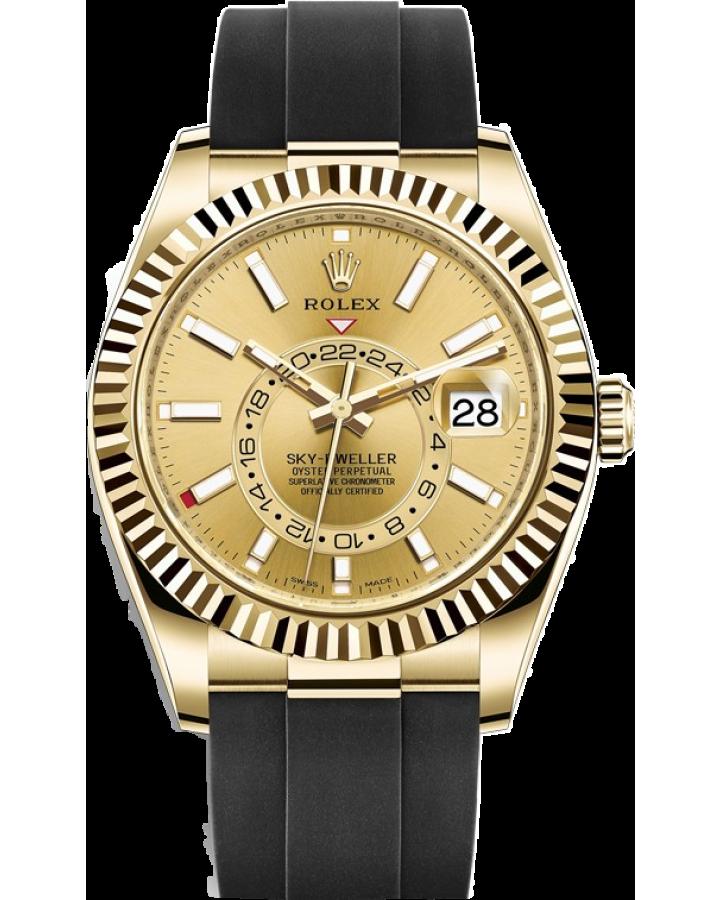 Часы Rolex SKY DWELLER 42MM YELLOW GOLD 326238- 0007