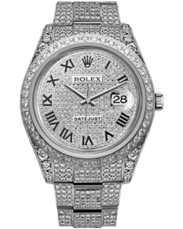 Часы Rolex DATEJUST DIAMONDS 41 MM
