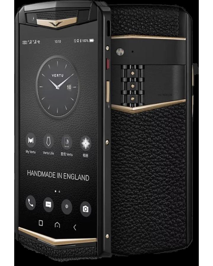 Телефон Vertu ASTER P Ti Black Gold Ceramics Blk Screw