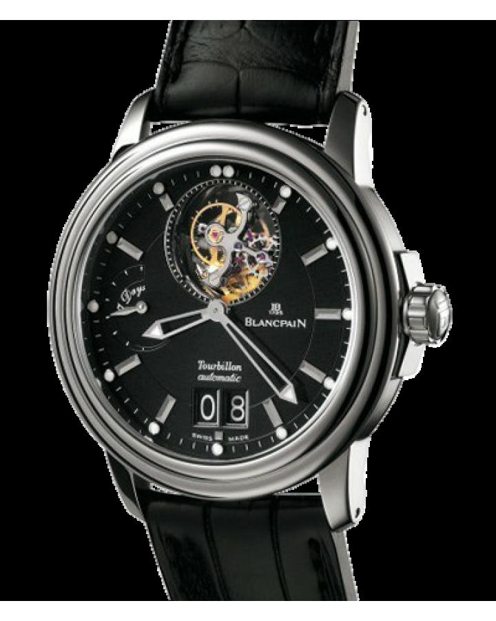 Часы Blancpain Leman Tourbillon Grande Date2825A-3430-53B