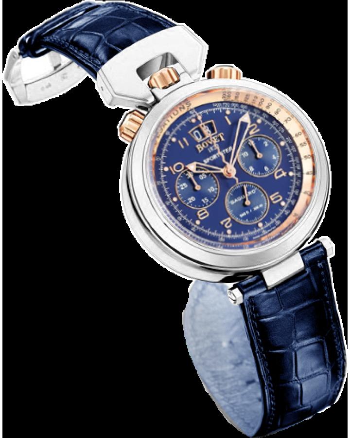Часы Bovet Sportster Saguaro Chronograph 46mm SP0437-R5N
