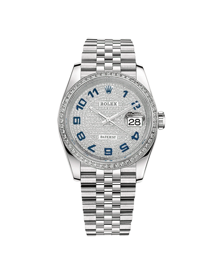 Часы Rolex DATEJUST DIAMONDS 36 MM OYSTERSTEEL