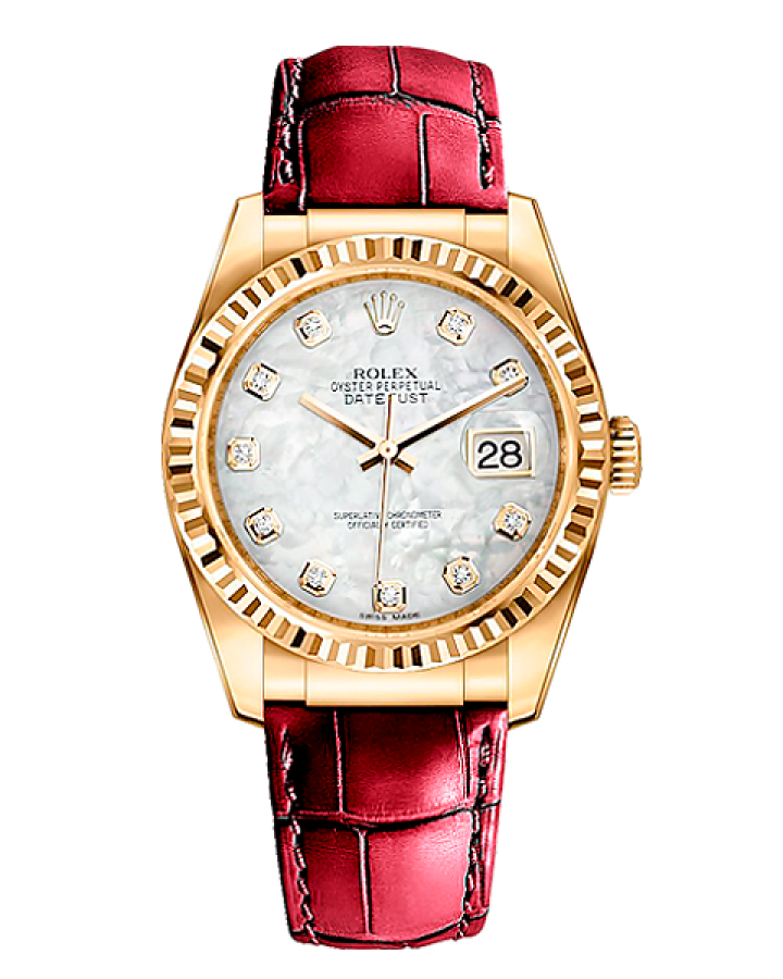 Rolex Datejust 36mm Yellow Gold 116138