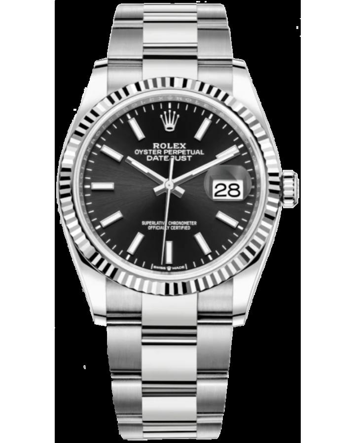 Часы Rolex Datejust 36mm Steel and White Gold126234-0016