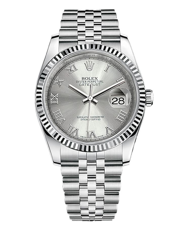 Часы Rolex DATEJUST 36MM STEEL AND WHITE GOLD