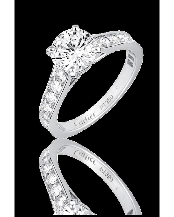 Кольцо с бриллиантом Cartier  0.70ct N4161649