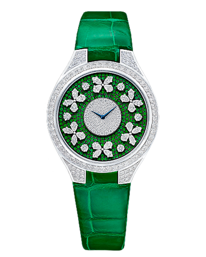 Часы Graff DISCO BUTTERFLY DIAMOND ON EMERALD
