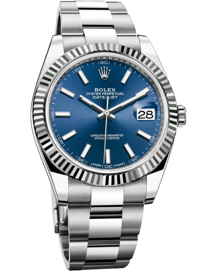 Часы Rolex DATEJUST 41 MM STEEL AND WHITE GOLD