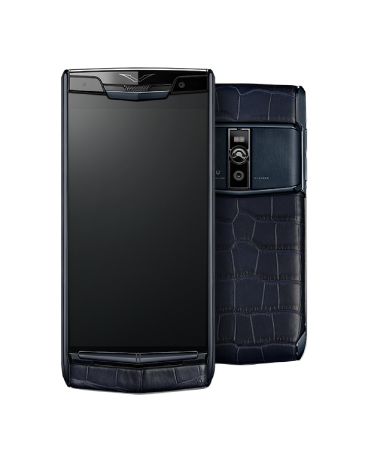 Vertu SIGNATURE TOUCH PURE NAVY ALLIGATOR