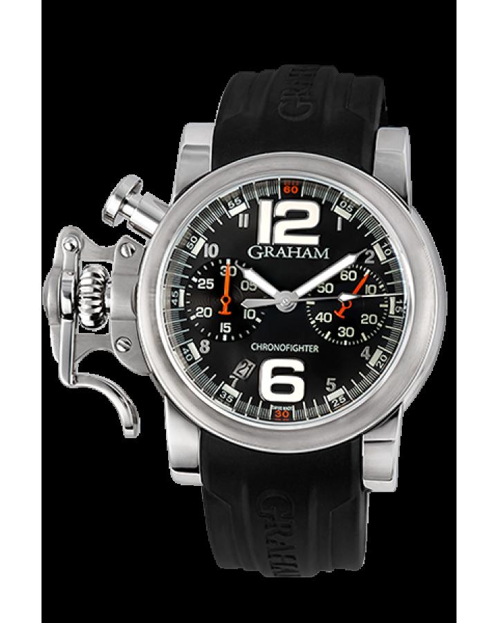 Часы Graham Chronofighter RAC Black Fighter 2CRBS B02A L81B