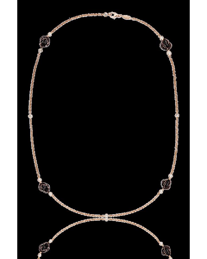 Колье De Grisogono  с PVD покрытием и бриллиантами 24101 05 70