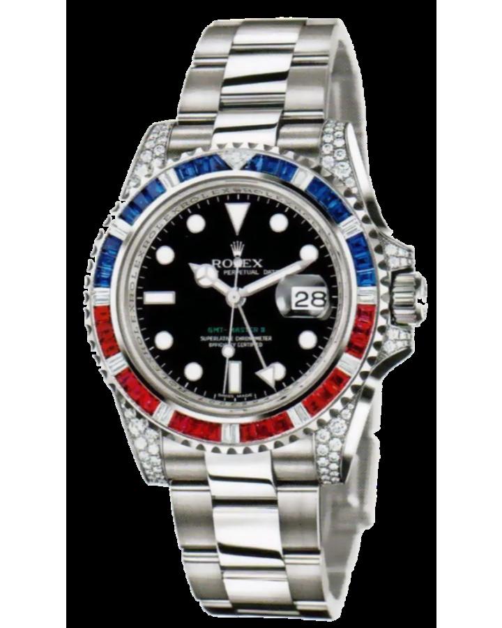 Часы Rolex GMT Master II 40mm116710 Тюнинг
