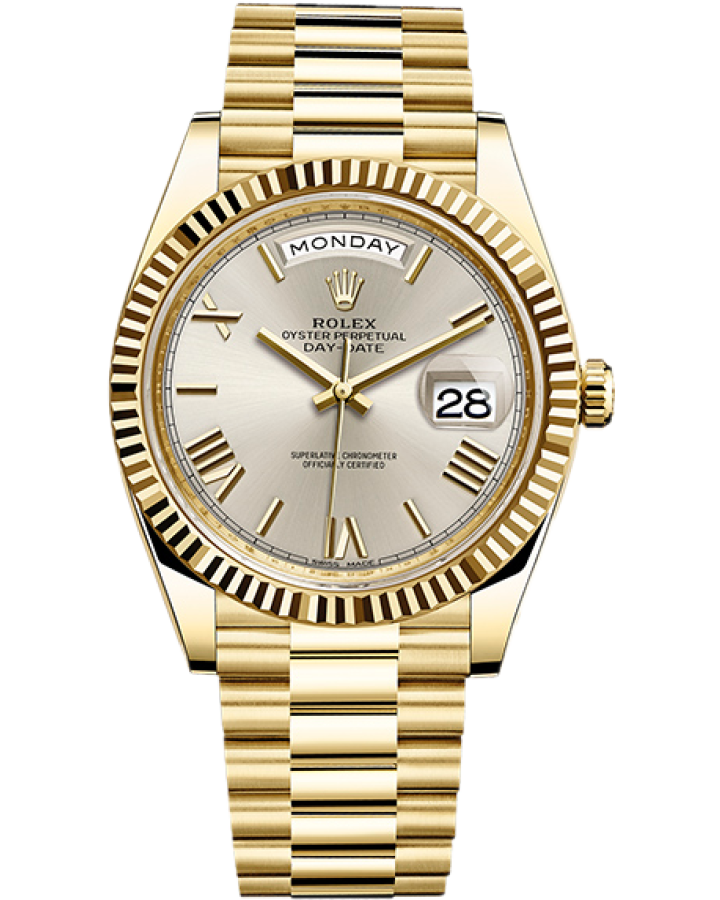 ROLEX DAY-DATE 40 MM YELLOW GOLD
