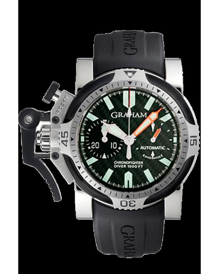 Часы Graham Chronofighter Oversize Diver 2OVDIVAS.B03A.K10B
