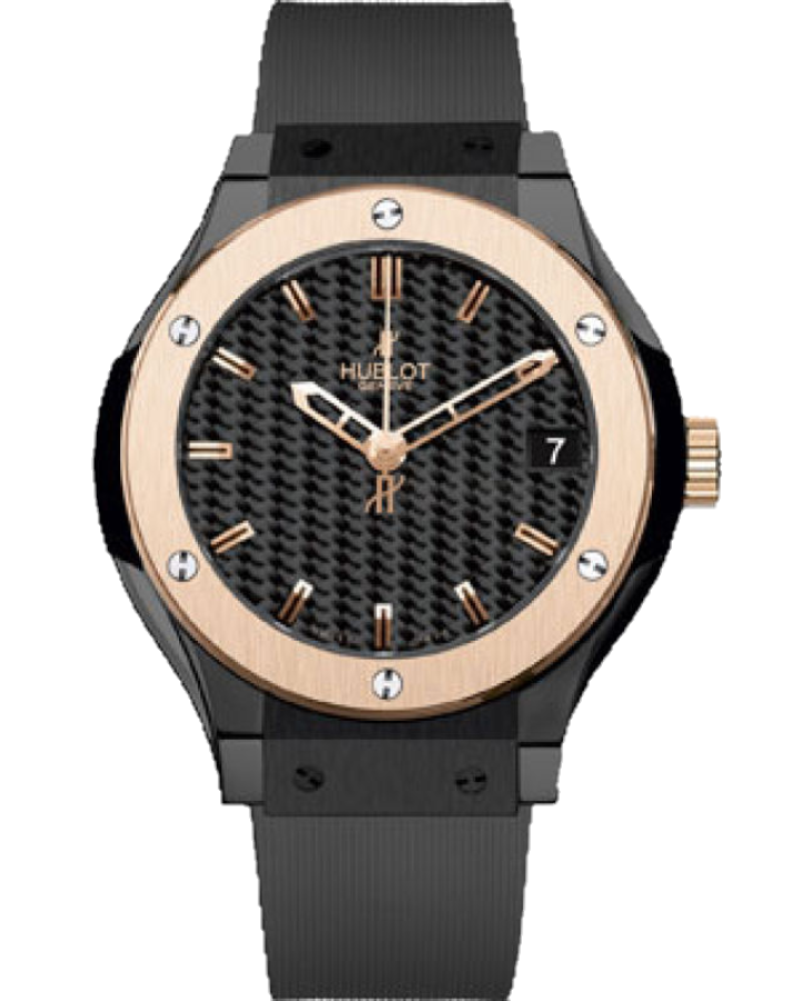 Часы Hublot Classic Fusion Ceramic King Gold 42 мм