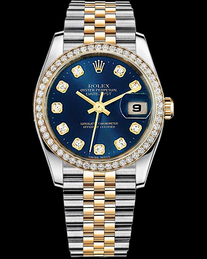Часы Rolex Datejust Steel and Yellow Gold 126233 Тюнинг.