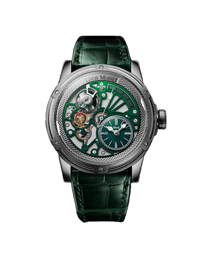Часы Louis Moinet MECANOGRAPH 20 SECOND TEMPOGRAPH CHROME