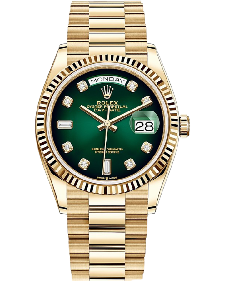 Rolex Day-Date 36mm Yellow Gold 128238-0069