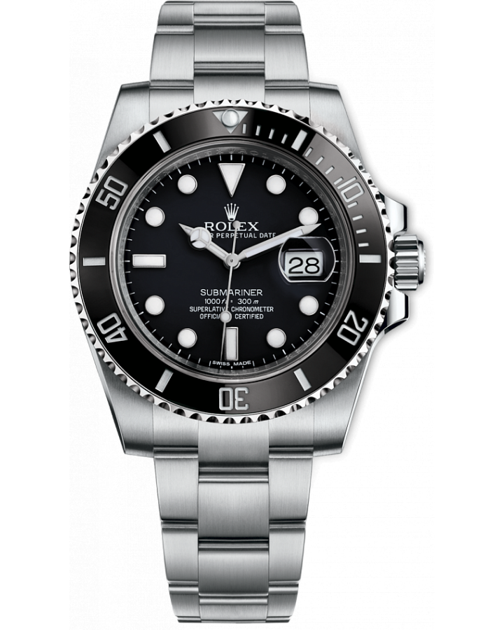 Часы Rolex SUBMARINER DATE 40MM STEEL CERAMIC 116610LN