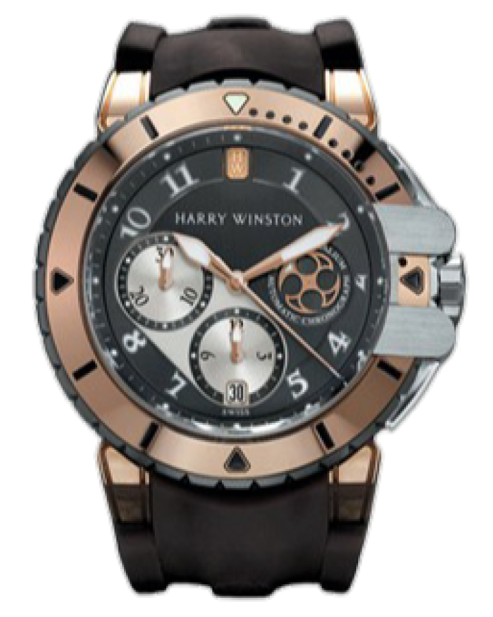 Часы Harry Winston Ocean DiverOCEACH44RZ001