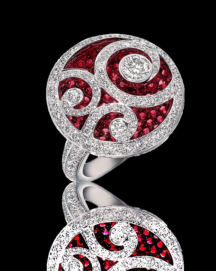 Кольцо с бриллиантом Graff DIAMOND ON DIAMOND кольцо