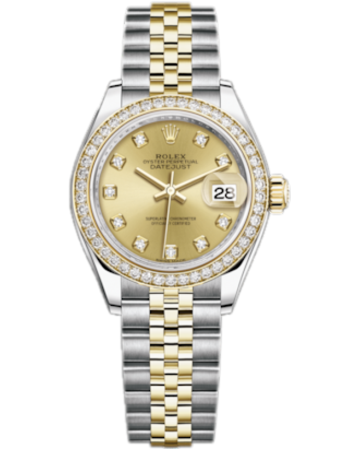 Часы Rolex Datejust 28 mm Steel and Yellow Gold 279383rbr-0011