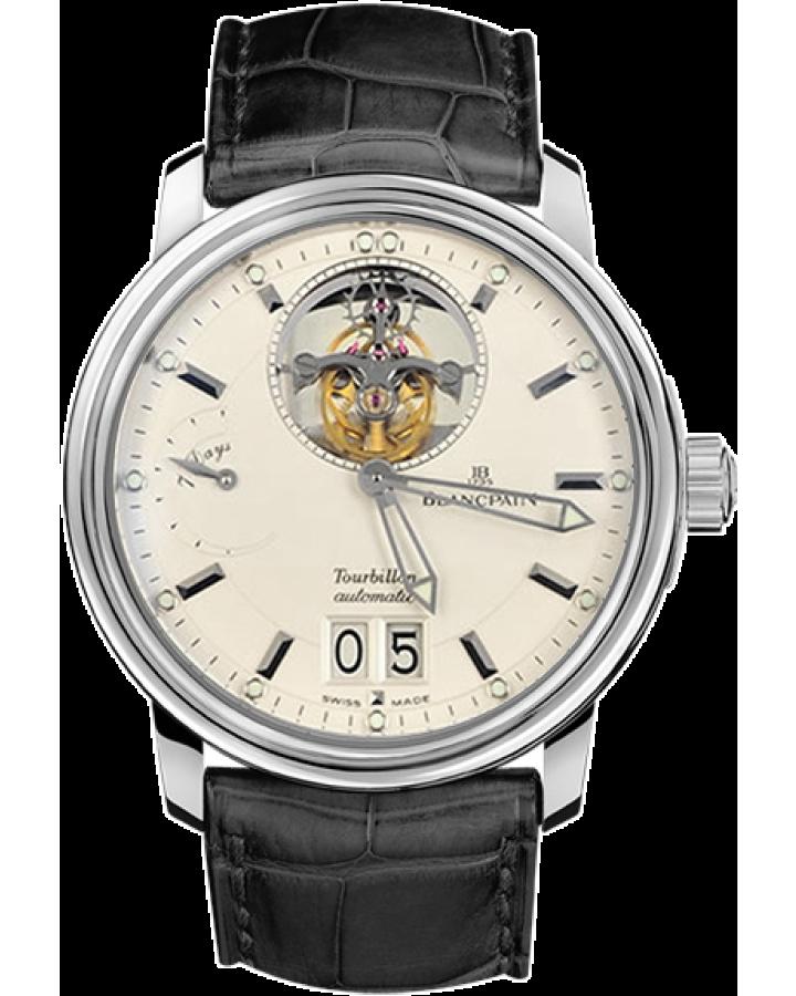Часы Blancpain  Leman Tourbillon Grande Date 2825A 1542 53 Limited Edition 50 шт
