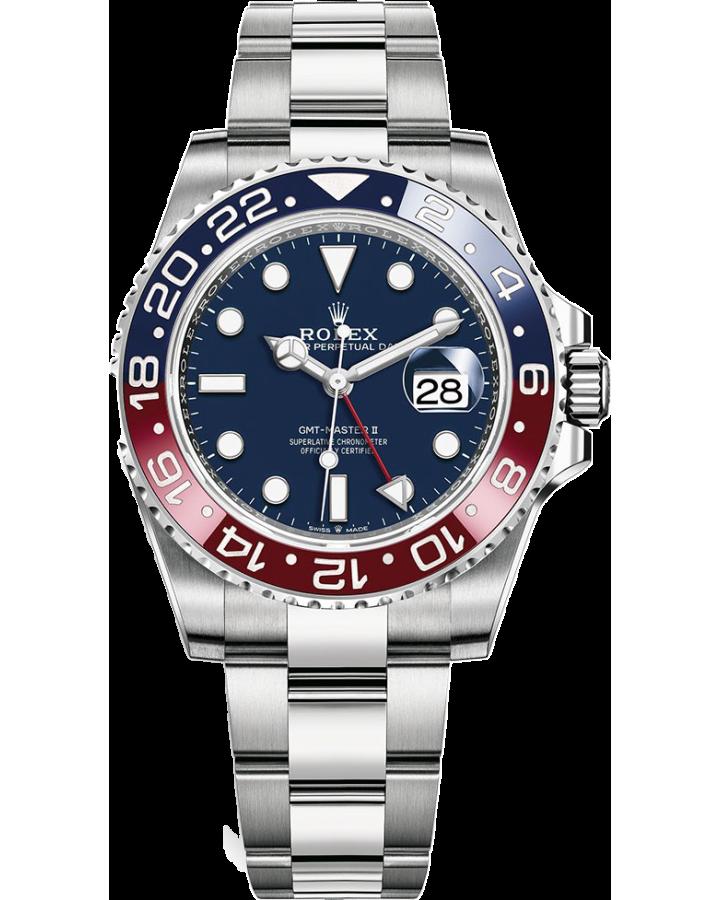 Часы Rolex 126719BLRO BLUE GMT-Master II White gold