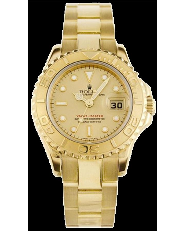 Часы Rolex Yacht Master 29mm 169628 Champagne