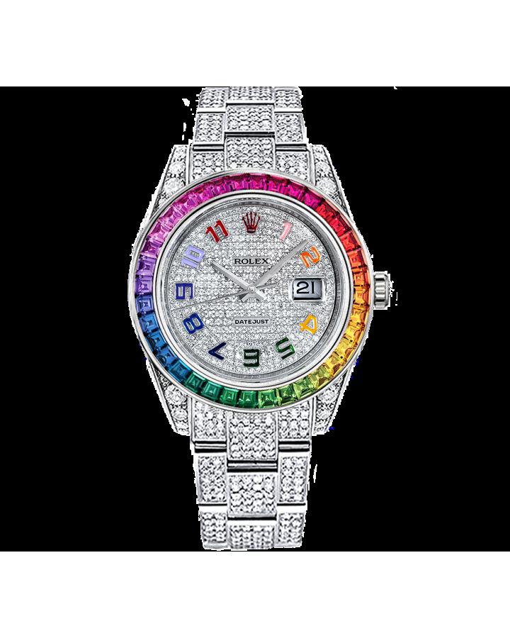 Часы Rolex DATEJUST Rainbow