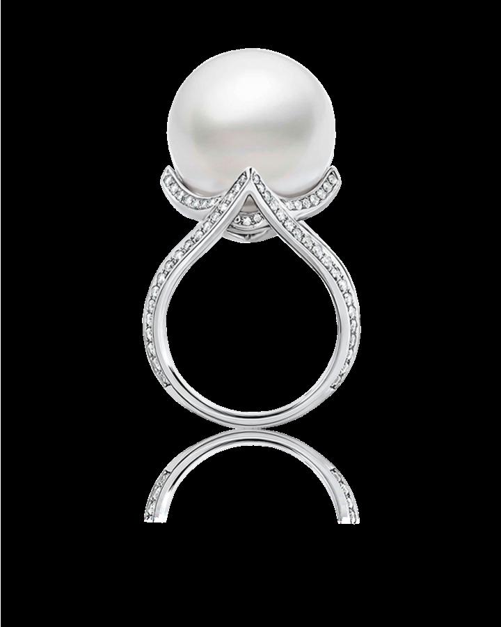 Кольцо Mikimoto  PRL 591 NDP
