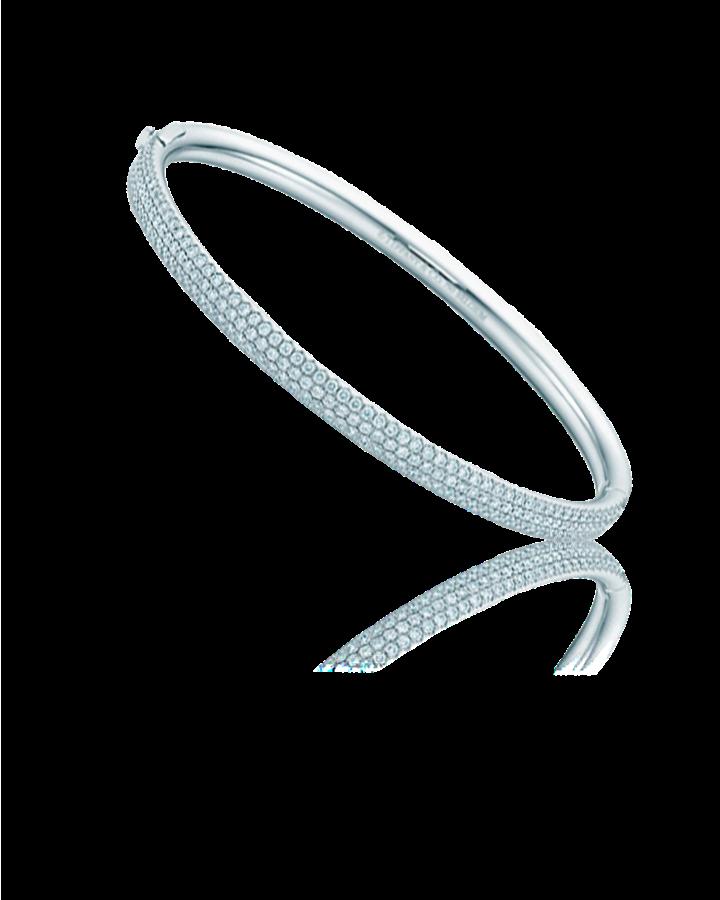 Браслет Tiffany&Co. Трехрядный шарнирный
