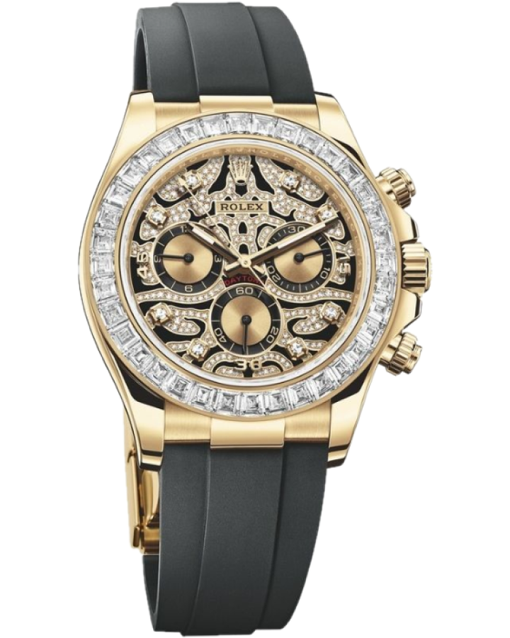 Часы Rolex DAYTONA COSMOGRAPH YELLOW GOLD DIAMOND ТЮНИНГ