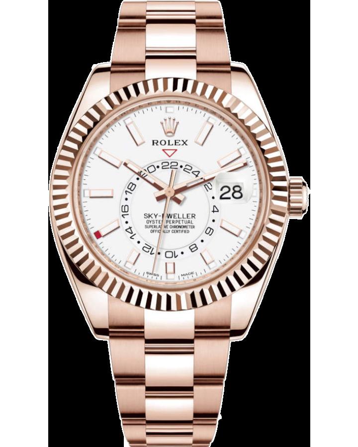 Часы Rolex  Sky-Dweller 42mm Everose Gold 326935