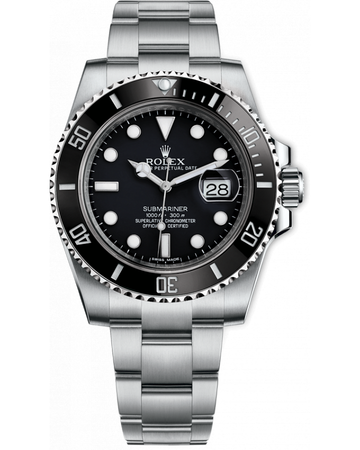 Часы Rolex SUBMARINER DATE 40MM STEEL CERAMIC