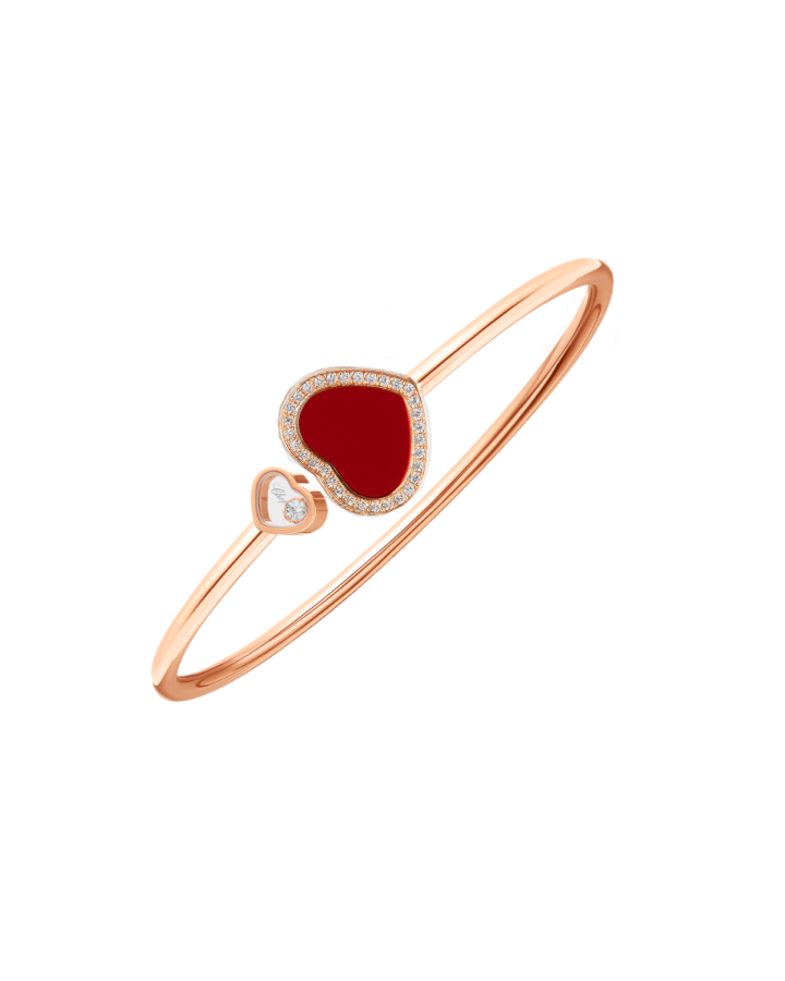 Браслет Chopard  Happy Diamonds Happy Hearts 85A074-5803