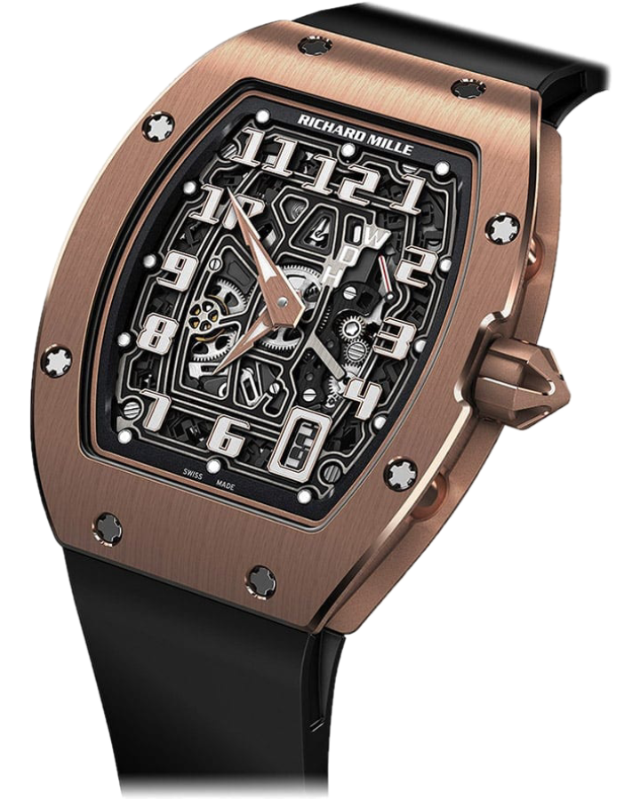 Часы Richard Mille RM 67 01 Automatic Extra Flat Rose Gold